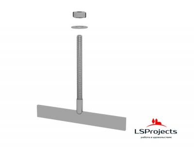 Болт Т-образный нержавеющий LSProjects