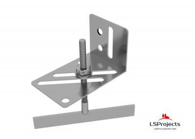 Крепление кронштейна LSProjects с помощью Болта Т-образного