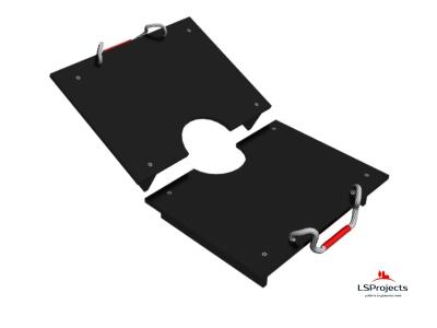 Крышка для Кормового автомата Step B+ 2х1 двухстворчатая