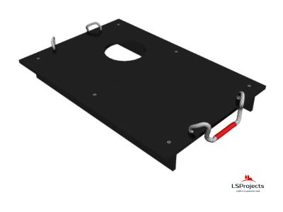 Крышка для Кормового автомата Step B+ 2х1 с отверстием