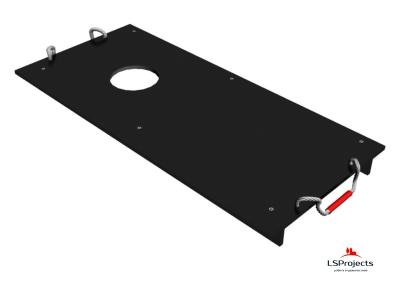 Крышка для Кормового автомата Step B+ 3х1 с отверстием