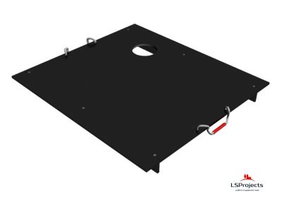 Крышка для Кормового автомата Step B+ 3х2 с отверстием