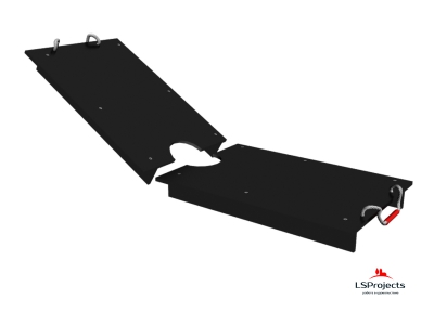 Крышка для Кормового автомата Step B+ 4х1 двухстворчатая
