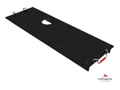 Крышка для Кормового автомата Step B+ 4х1 с отверстием