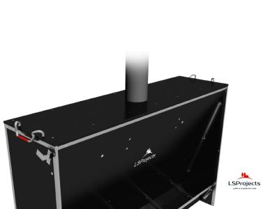 Установка крышки для Кормового автомата Step B+ 5х1
