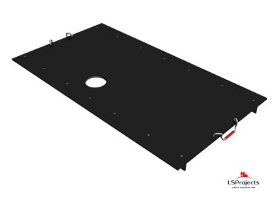 Крышка для Кормового автомата Step B+ 5х2 с отверстием