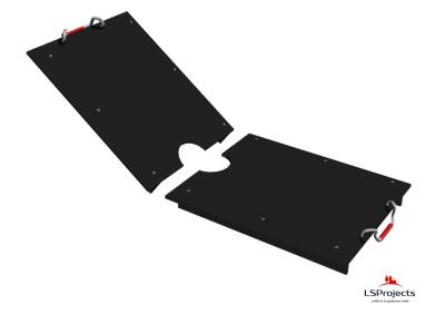 Крышка для Кормового автомата Step C 3х1 двухстворчатая