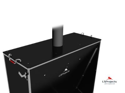 Установка крышки для Кормового автомата Step C 3х1