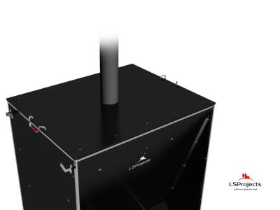 Установка крышки для Кормового автомата Step C 3х2