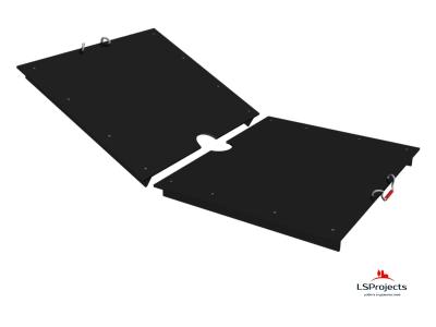 Крышка для Кормового автомата Step C 4х2 двухстворчатая