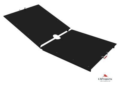Крышка для Кормового автомата Step C 5х2 двухстворчатая