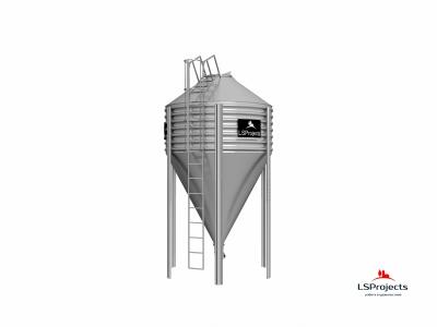 Бункер для хранения кормов BigBank 15 м3