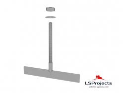 Болт Т-образный нерж LSProjects