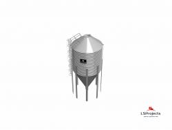 Силос для зерна и комбикорма BigBank 60 м3