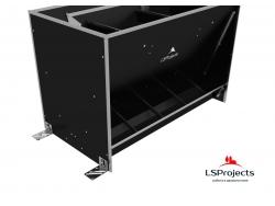 Крепление Кормового автомата LSProjects с помощью кронштейна
