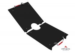 Крышка для Кормового автомата Step B+ 3х1 двухстворчатая
