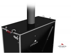 Установка крышки для Кормового автомата Step B+ 3х1