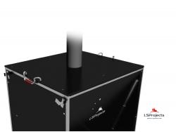Установка крышки для Кормового автомата Step B+ 3х2