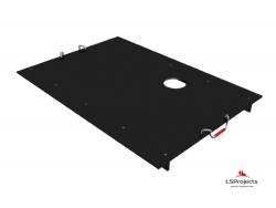 Крышка для Кормового автомата Step B+ 4х2 с отверстием