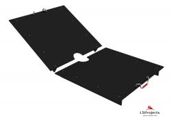 Крышка для Кормового автомата Step B+ 5х2 двухстворчатая