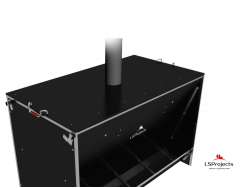 Установка крышки для Кормового автомата Step B+ 5х2