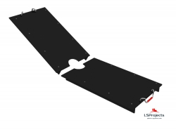 Крышка для Кормового автомата Step C 4х1 двухстворчатая