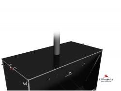 Установка крышки для Кормового автомата Step C 5х2