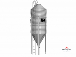 Бункер для хранения кормов BigBank 19