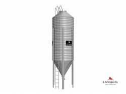 Бункер для хранения кормов BigBank 25 м3