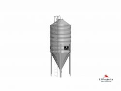 Бункер для хранения кормов BigBank 35 м3