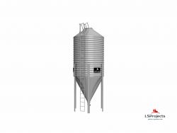 Бункер для хранения кормов BigBank 35