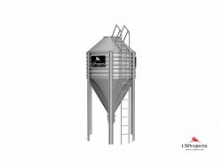 Бункер для хранения кормов BigBank 9