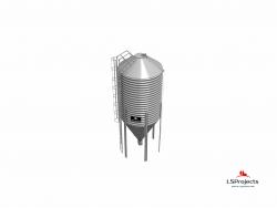 Силос для зерна и комбикорма BigBank 35 м3