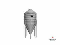 Силос для хранения кормов BigBank 60 м3
